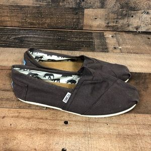 Toms gray shoes